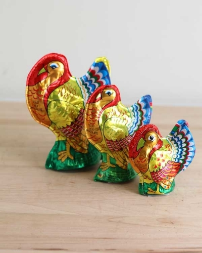 Picture of Milk Chocolate Foil Wrapped Turkeys