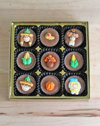 Picture of Thanksgiving 9 Piece Deco
