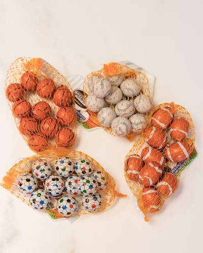 Picture of Foil Wrapped Sports Balls