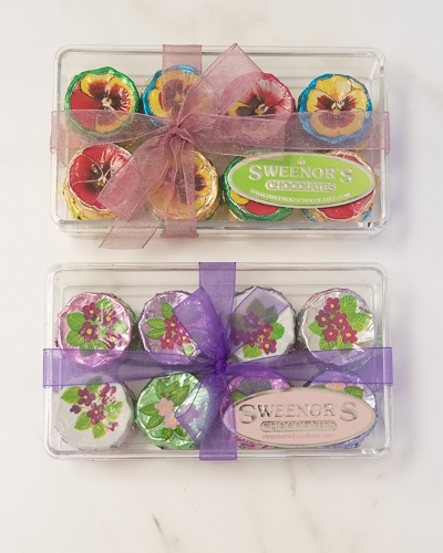 Picture of Pansies or Violets in a box